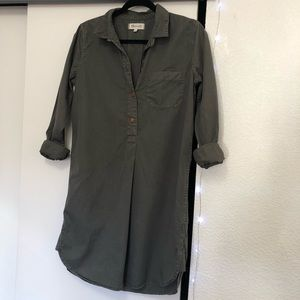 [Madewell] Utility Shift Dress 100% Cotton